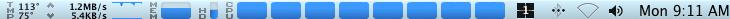 iStat Pro - MacPro CPUs at 100%