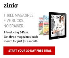 Review of Zinio's Z-Pass and Free Magazines